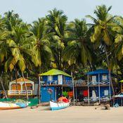 Fishing boats in Goa