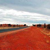 Road by Uluru