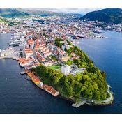 Bergen aerial