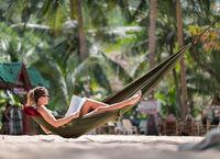 woman hammock magazine