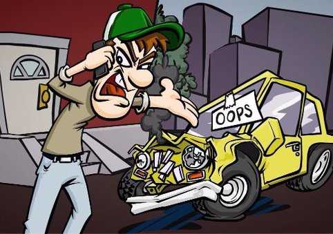 You Hit My Car!