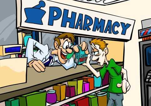 Embarrassing Pharmacy Order