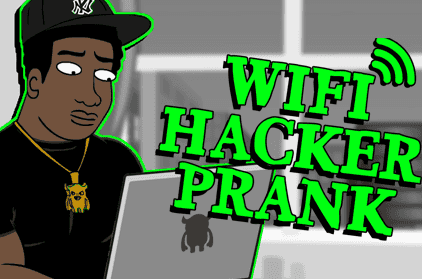 Pranking 101: Wifi Hacker Prank