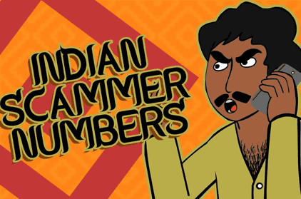 Indian Scammer Numbers You Can Call!