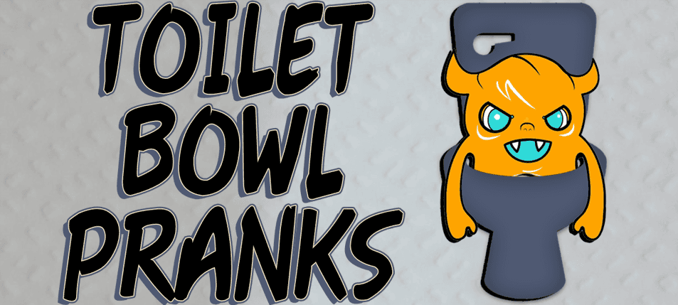 TAKE OVER THE HOT SEAT: 15 Must-try Toilet Bowl Pranks!