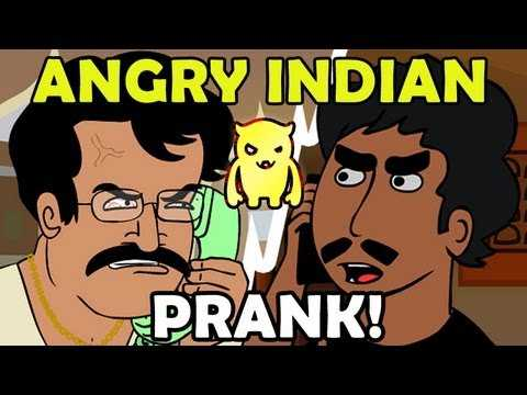 Angry Indian Restaurant Prank Call - An Animated Classic!