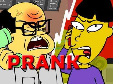 Angry Asian Restaurant Prank Call - Animated!