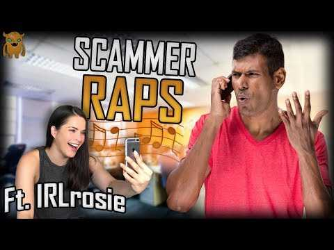 Making an Indian Gift Card Scammer RAP (ft. IRLrosie)