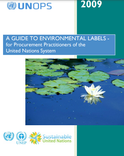 A guide to environmental lables