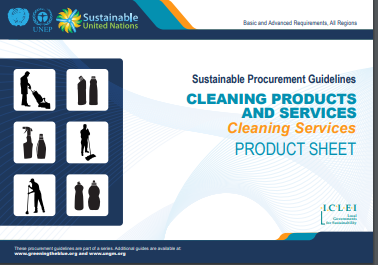 cleaning products and services