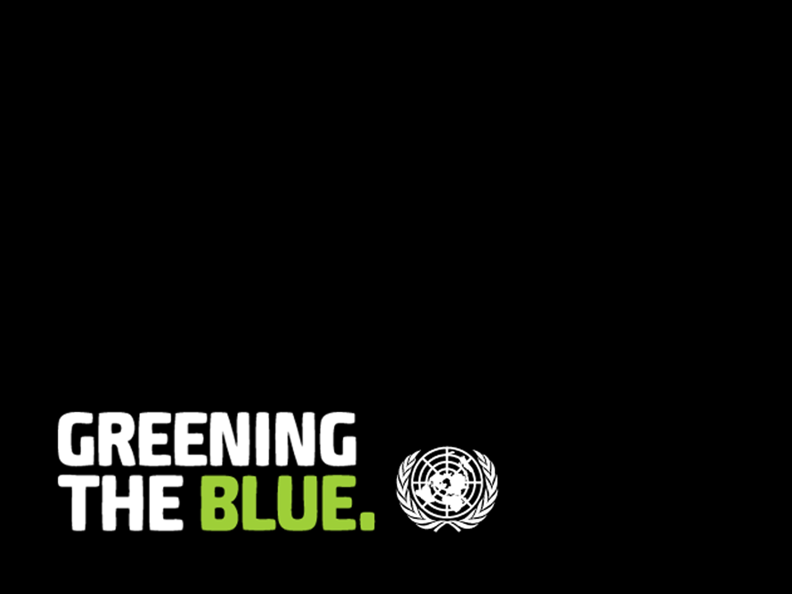Greening the Blue Computer Wallpapers 1600 x 1200 - Simple black