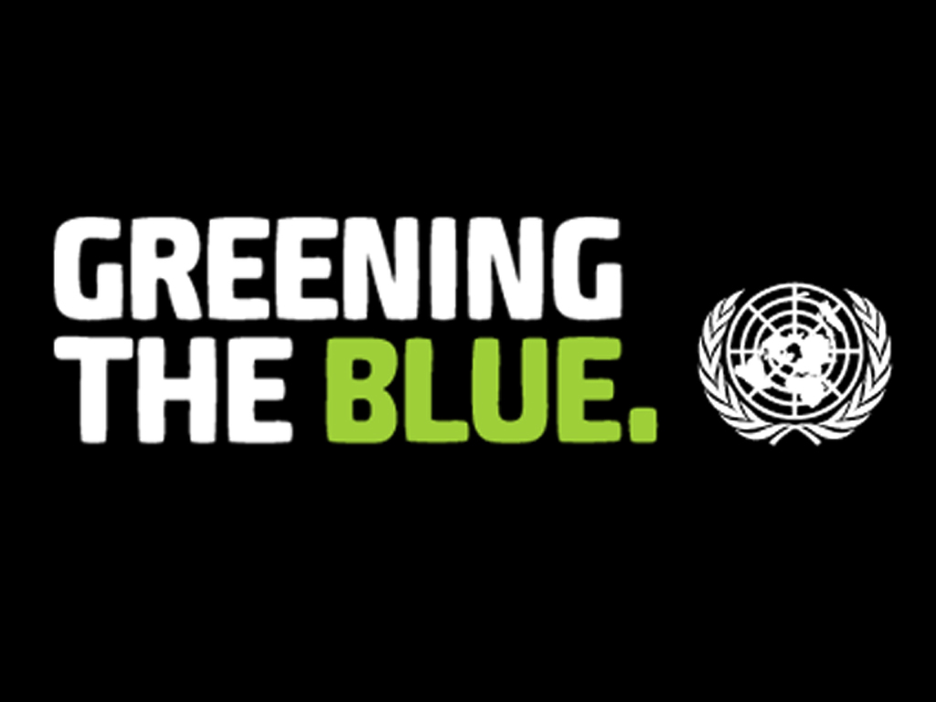Greening the Blue Computer Wallpapers 1024 x 768 - Simple black centre