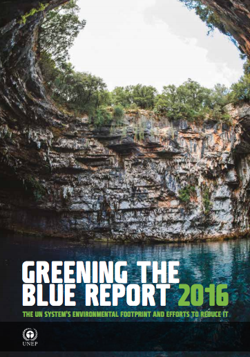 2016 Greening the Blue Report