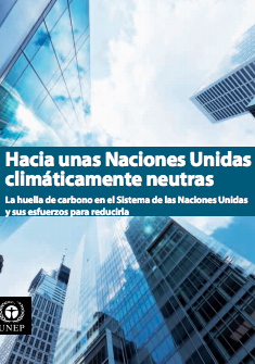 Moving Towards a Climate Neutral UN 2009 (Spanish) - Page 1