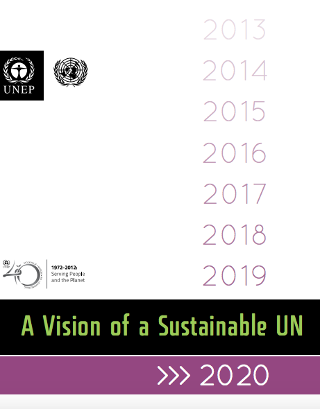 Vision of a Sustainable UN 2020