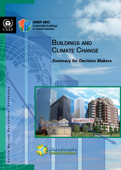 Buildings and climate change summary