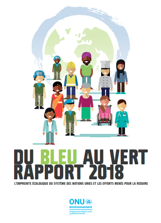 2018 Greening the Blue Report (French)