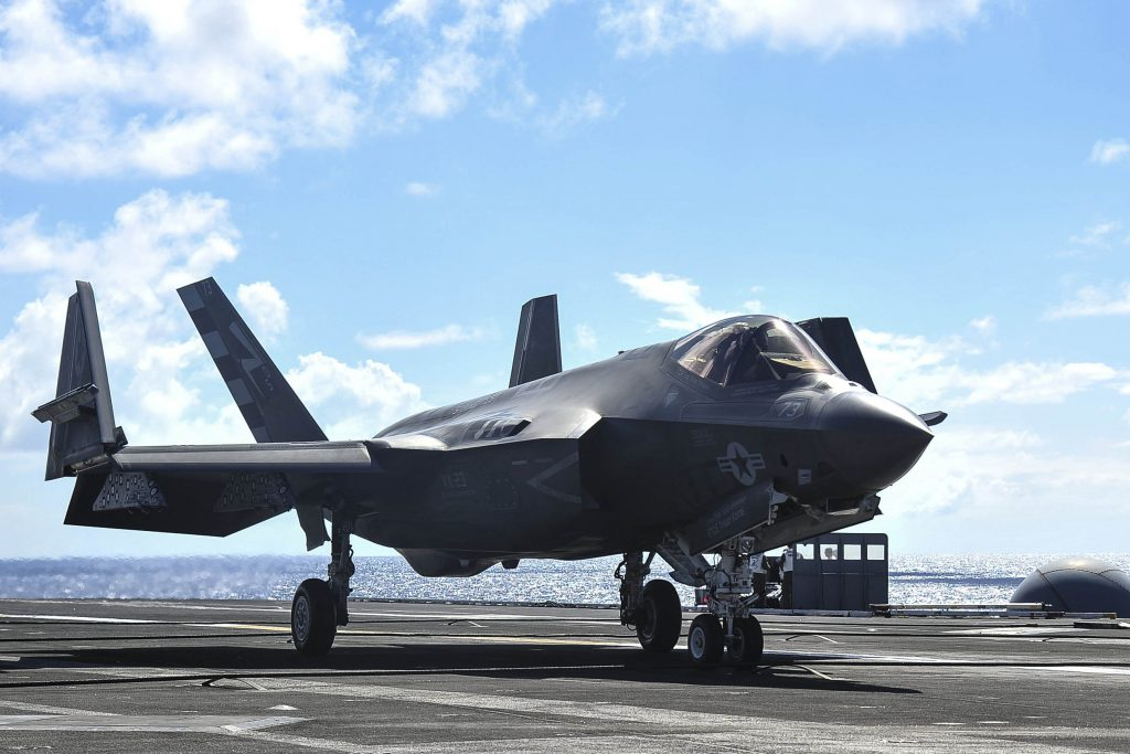 Should the government cancel production of the F-35 fighter