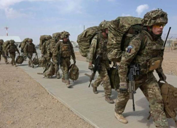 Military withdrawal from Afghanistan