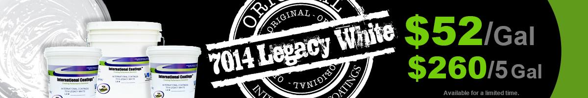 7014 Legacy White Sale