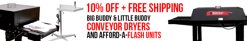 10% OFF BBC Conveyor Dryers and Flash Units