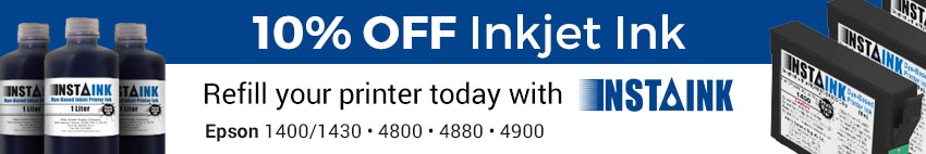 Discount on Inkjet Ink