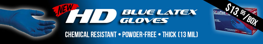 NEW HD Blue Gloves on Sale