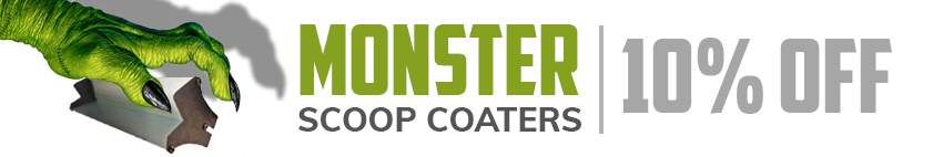 Monster Scoop Coaters On Sale