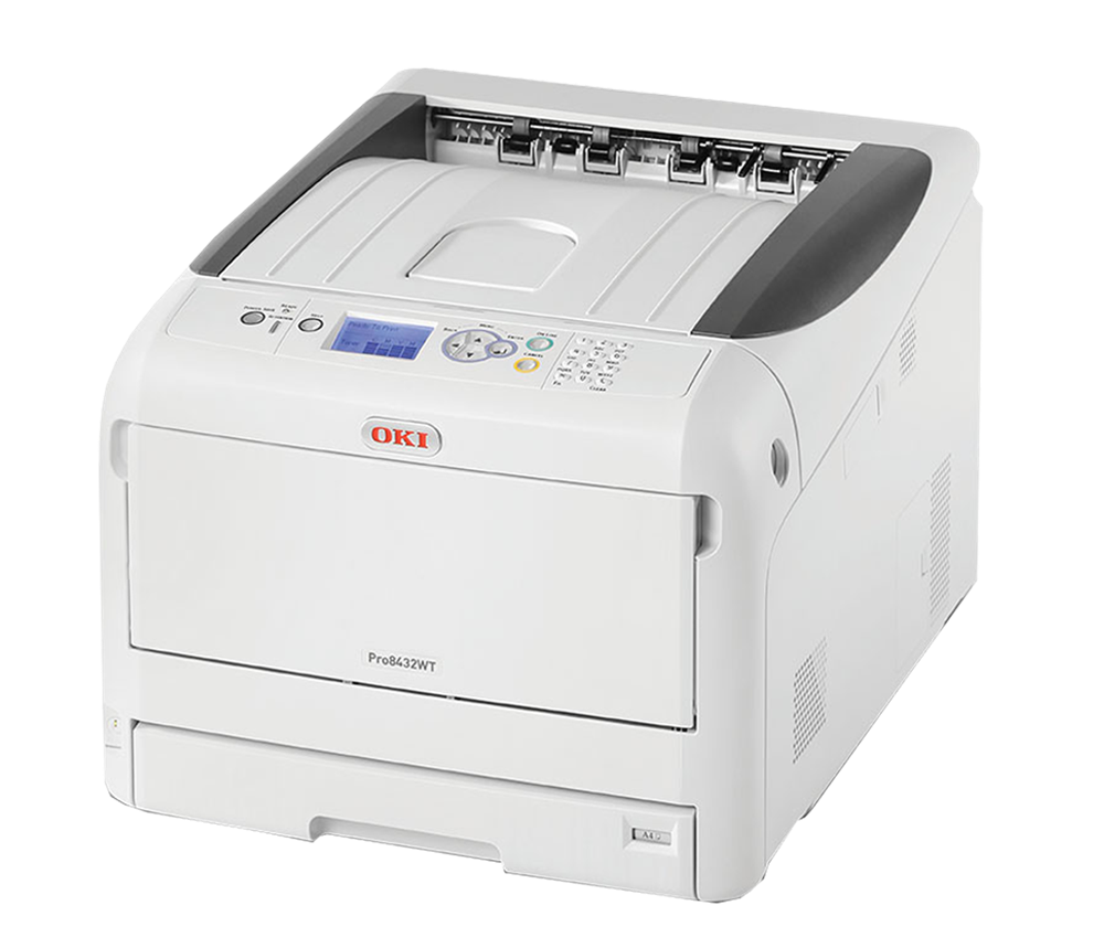 c19a1e65 OKI Pro8432WT White Laser Transfer Printer