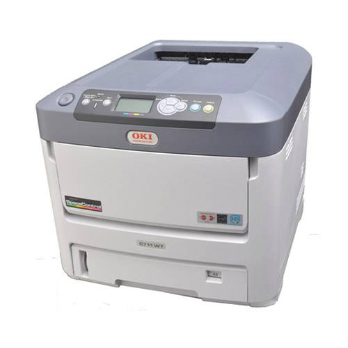 OKI C711WT White Laser Transfer Printer