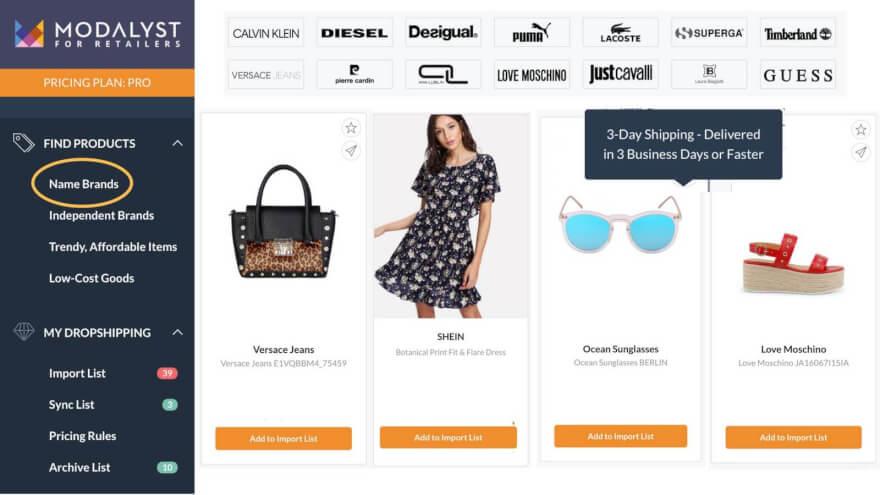 modalyst plugin for shopify dropshipping oberlo alternatives