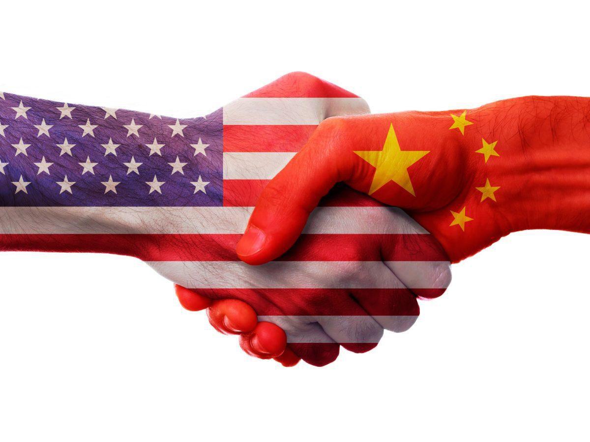 usa and china handshake