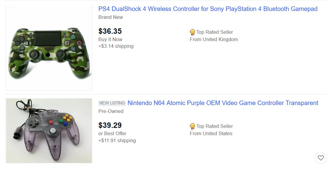 controller ebay best seller