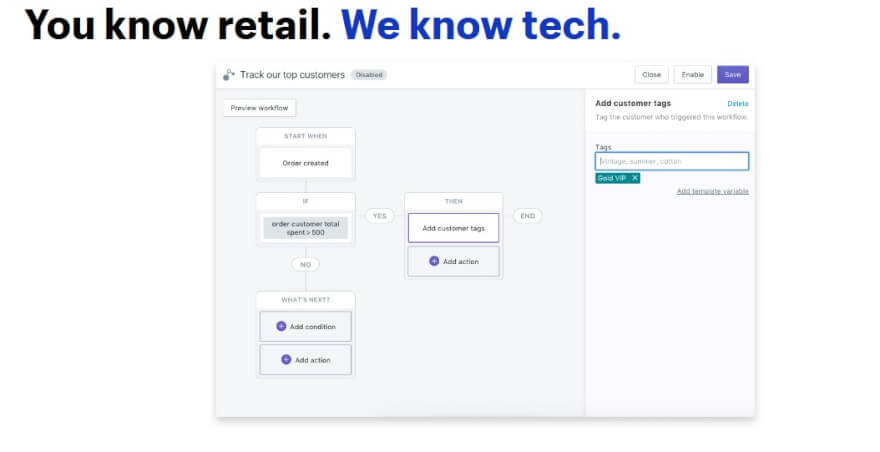 shopify plus automation