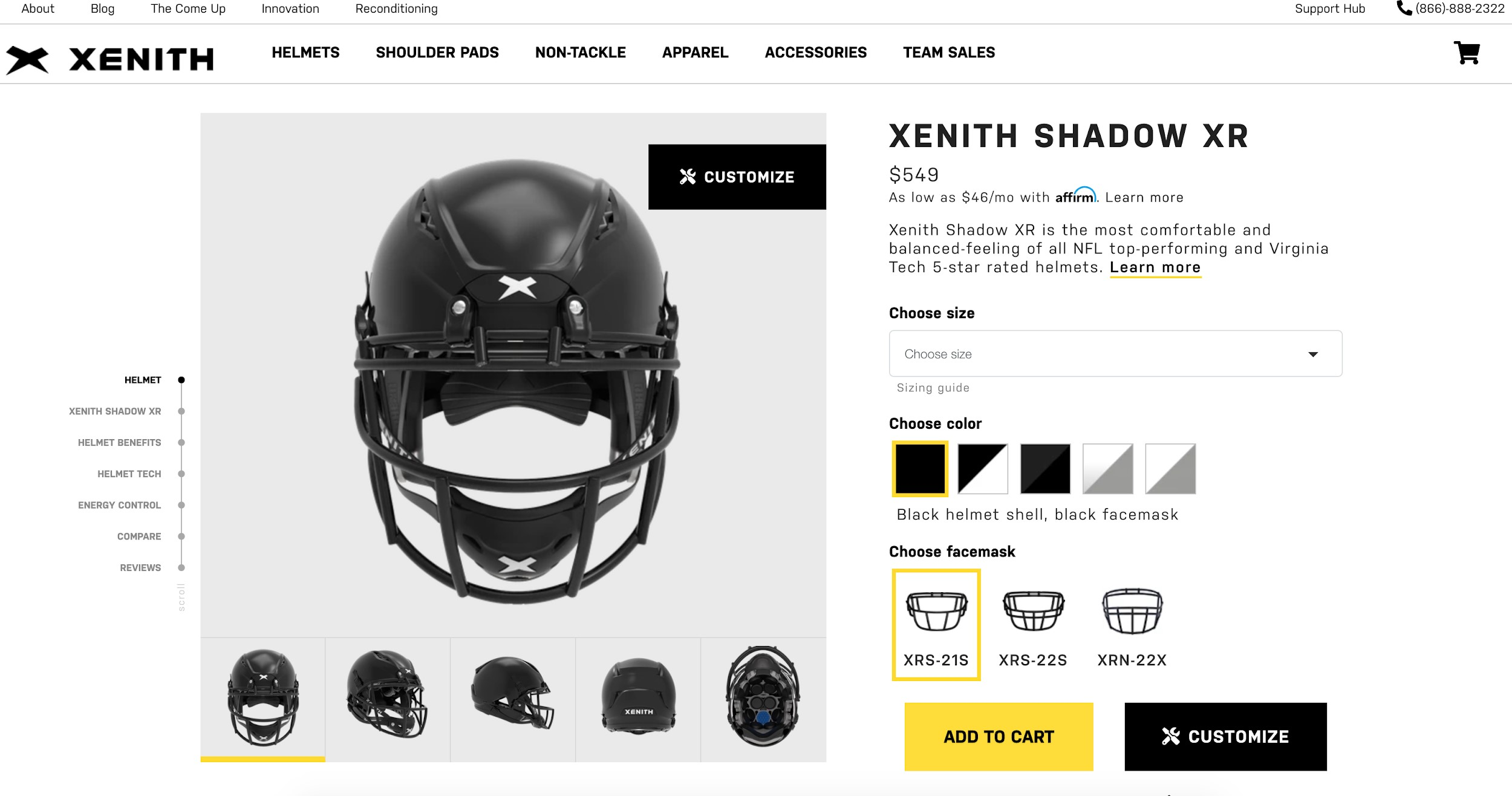xenith best ecommerce site