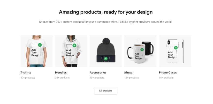 printify products