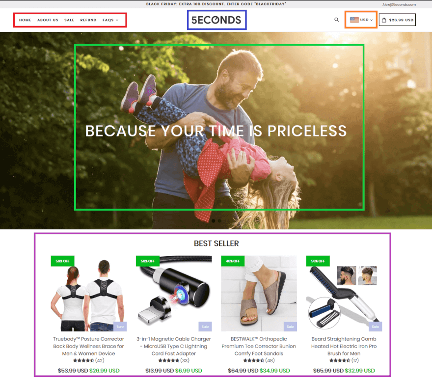 Shopify store product reviews by Loox and Frequently Bought Together