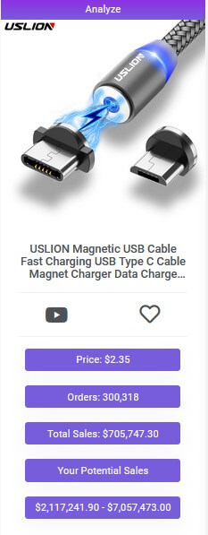 magnetic usb cable aliexpress dropshipping