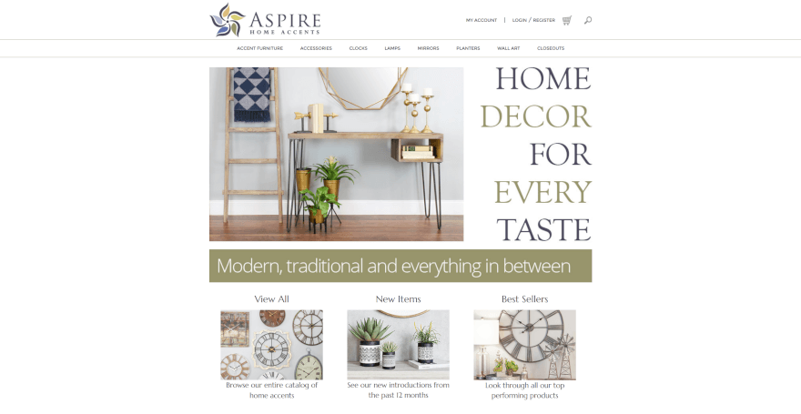 aspire home accents