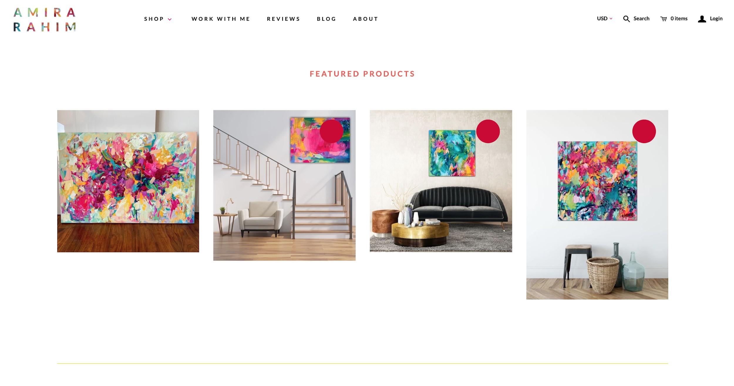 amira rahim best e commerce websites