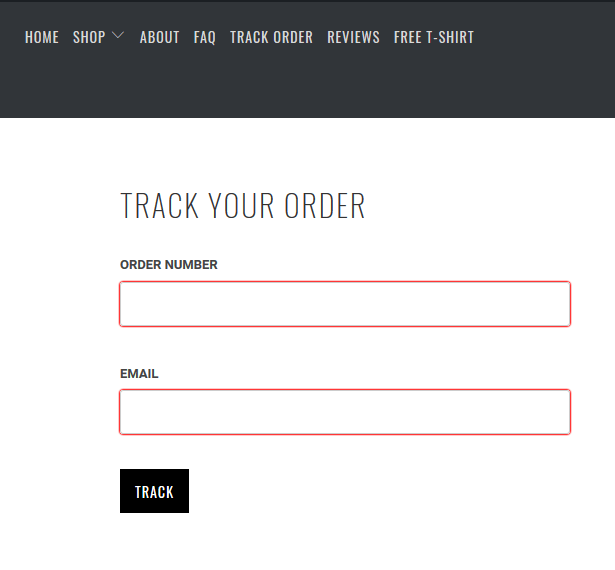Shopify Dropshipping order tracker app