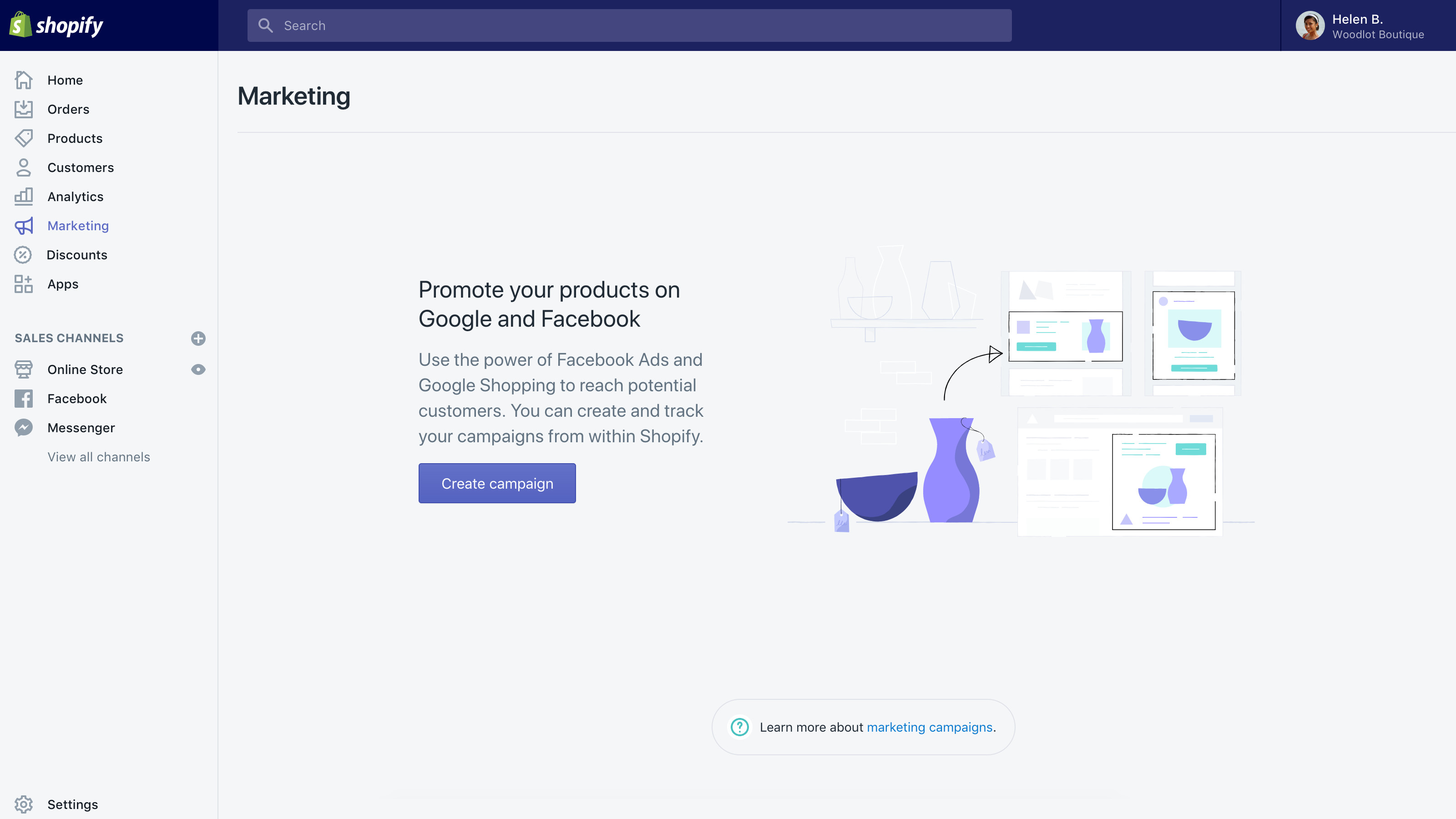 shopify reviews online marketing features