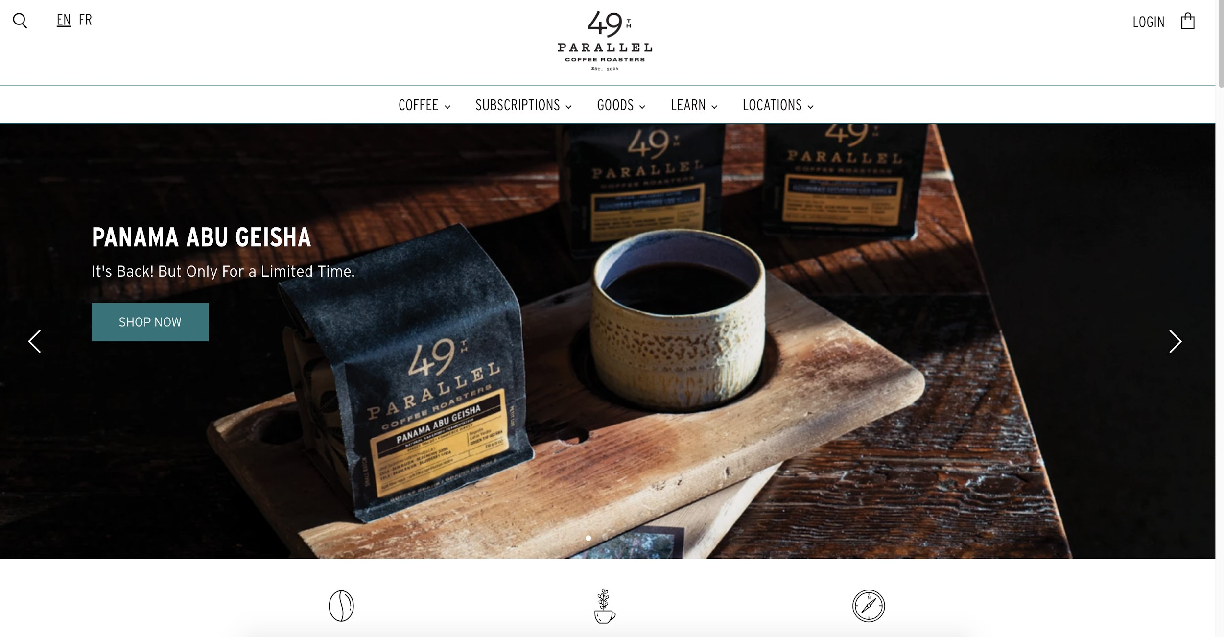 49th parallel coffee roasters best e commerce websites