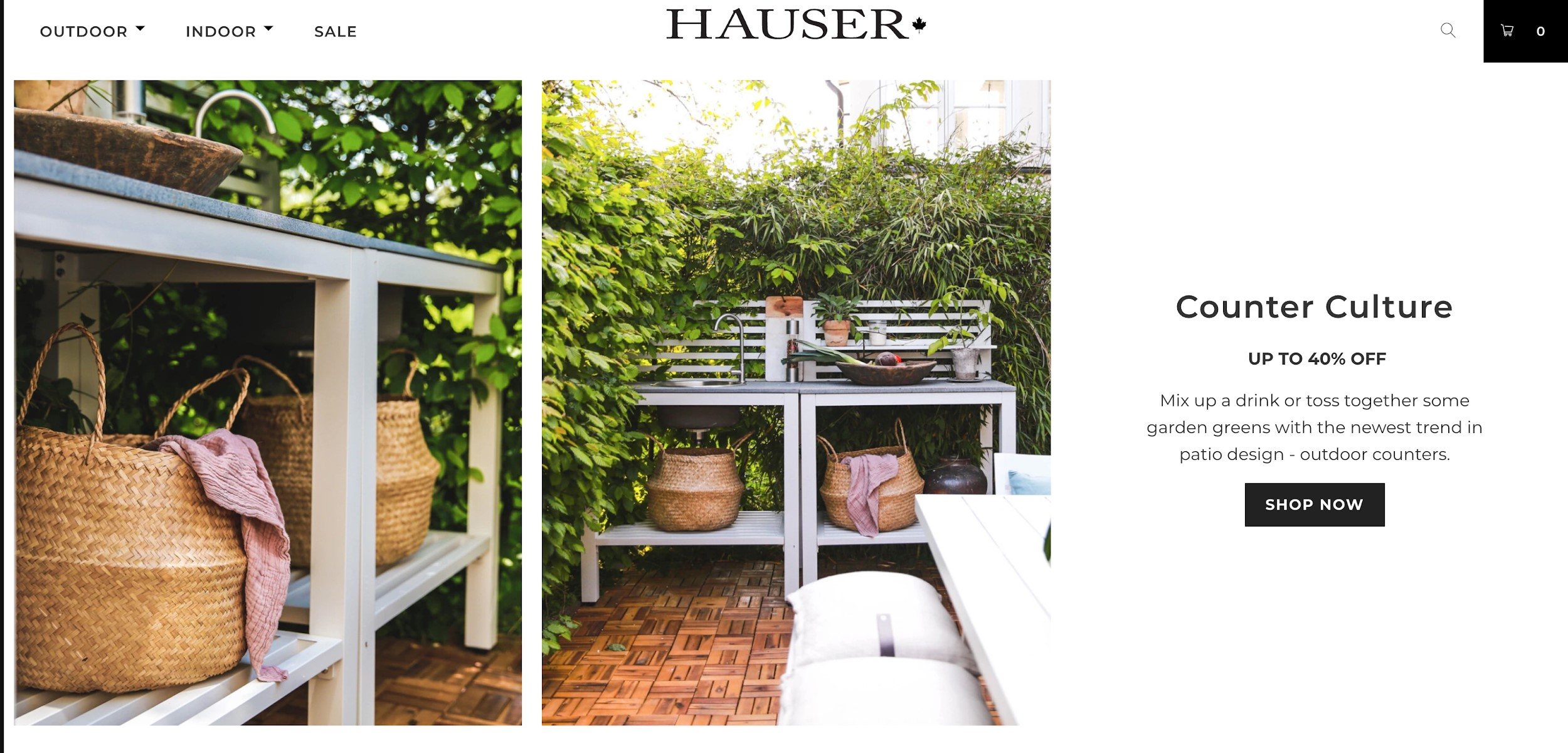 hauser best ecommerce sites
