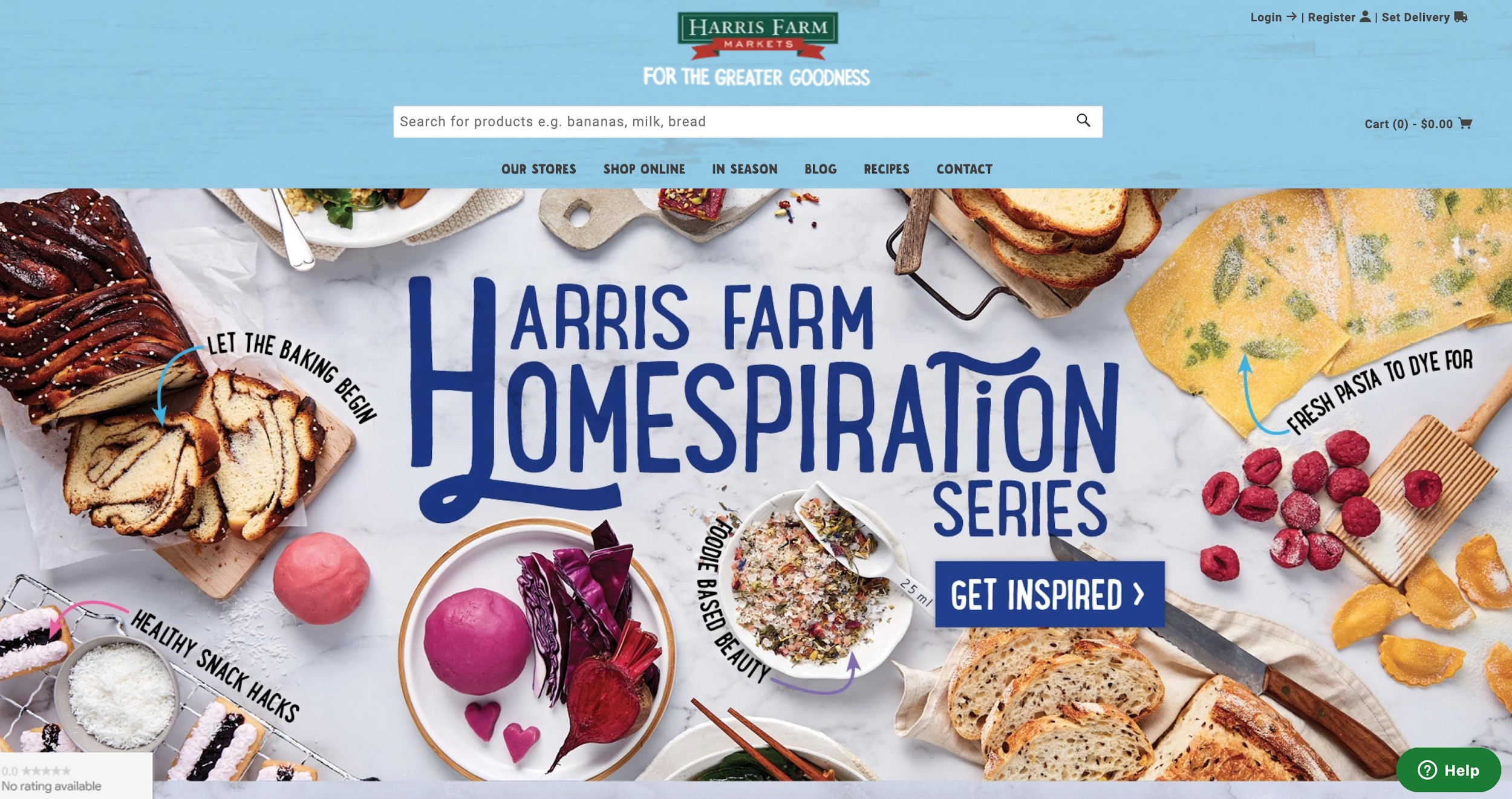 harris farm markets best e-commerce site