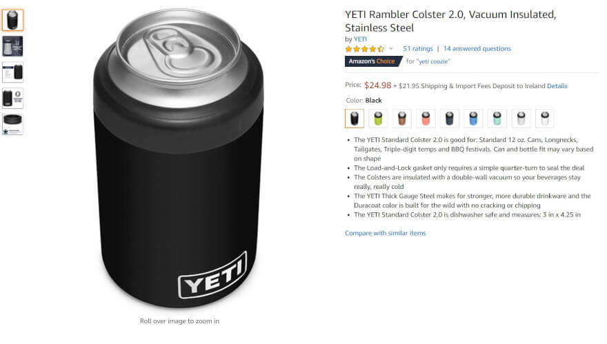 can insulator amazon top selling item