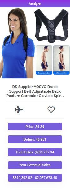 posture correcting brace