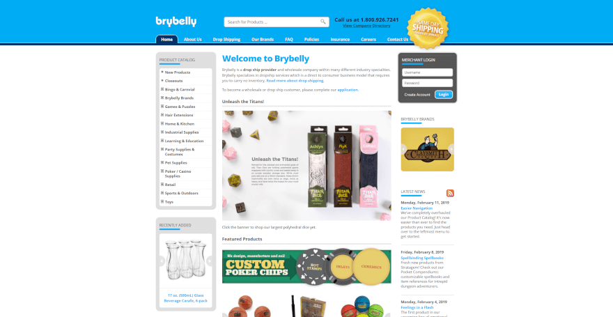 brybelly dropshipping company usa