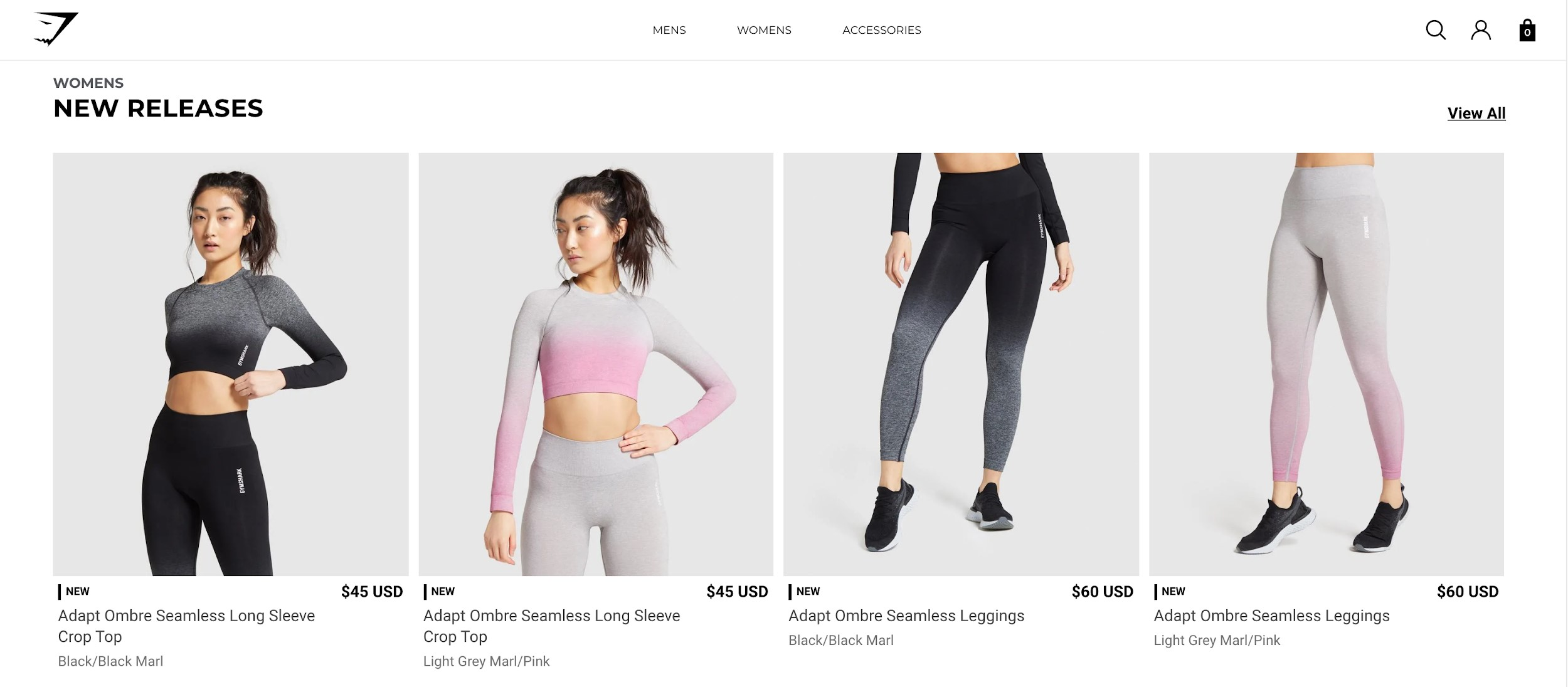 gymshark best ecommerce websites