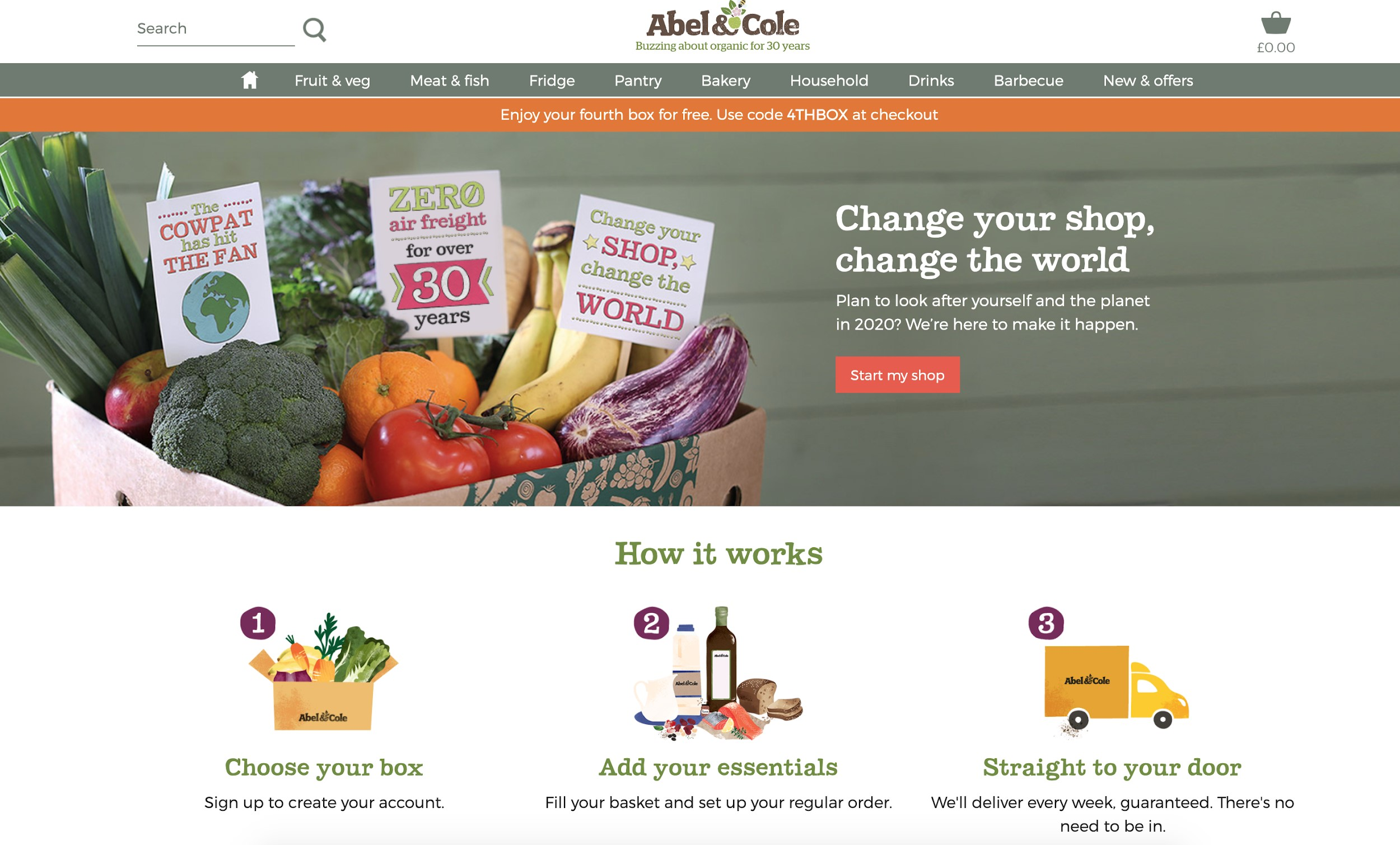 best e commerce sites abe and cole